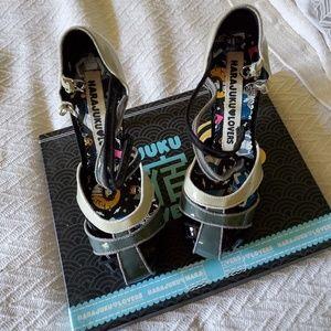 Harajuku Lovers patent heel